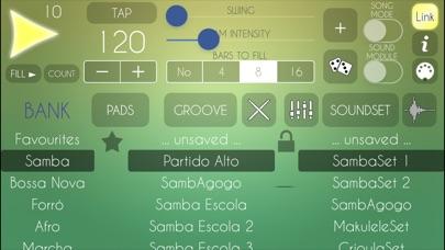 Brazilian Drum Machine Screenshot 1