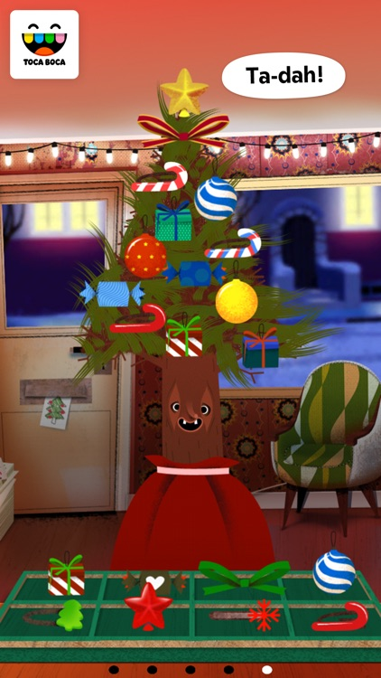 Toca Hair Salon - Christmas screenshot-4