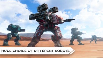 Robot Warfare: Mech Battle screenshot 4
