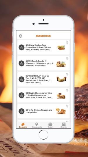 bk coupon app