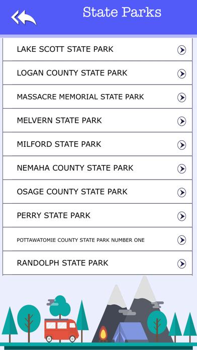 Kansas Camping & State Parks screenshot four