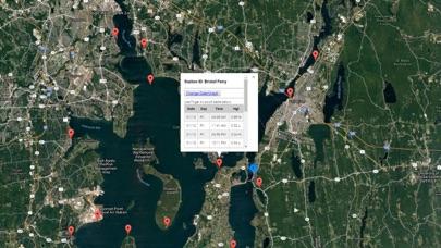 Rhode Island Tide Chart Screenshot