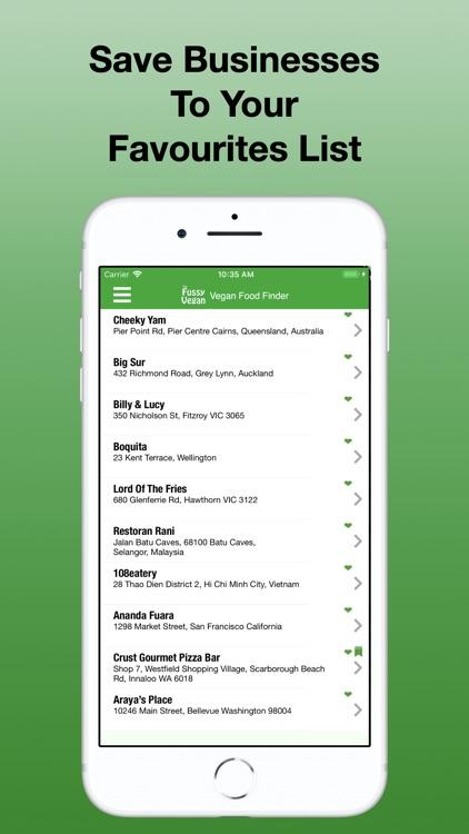 Fussy Vegan Food Finder screenshot-9