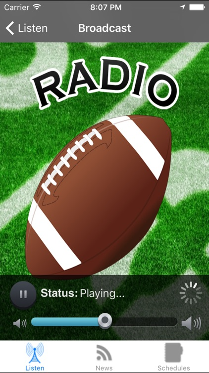 Pittsburgh Football Live - Radio, Schedule, News screenshot-1