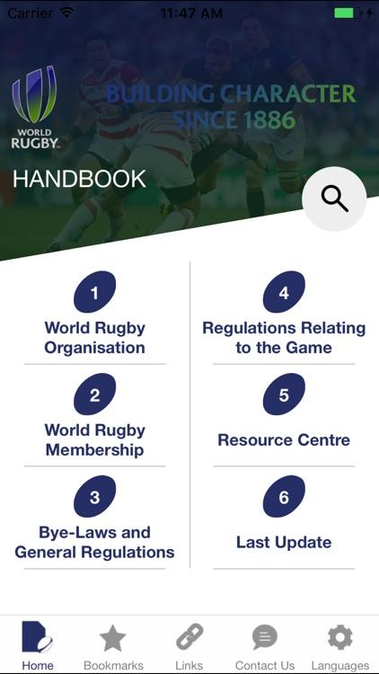World Rugby Handbook