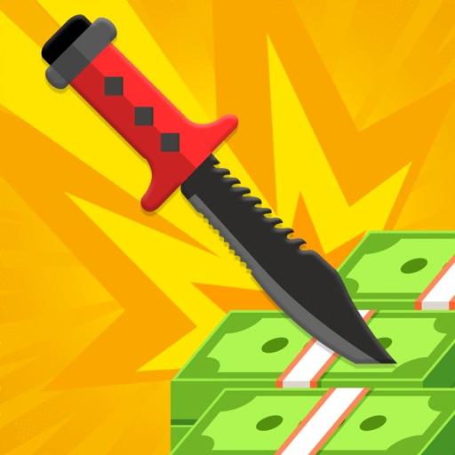 Knife Flip for Cash & Fame