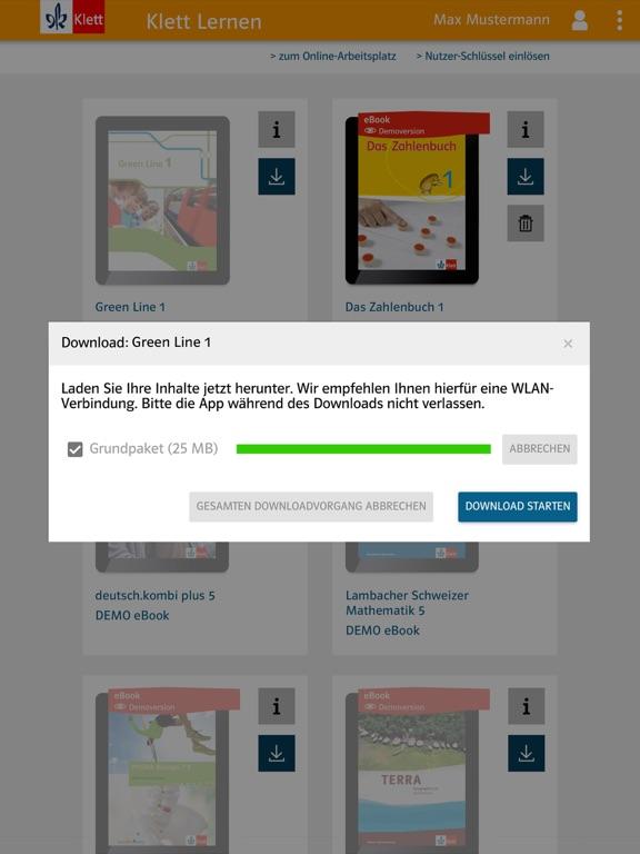 Klett Lernen screenshot 12