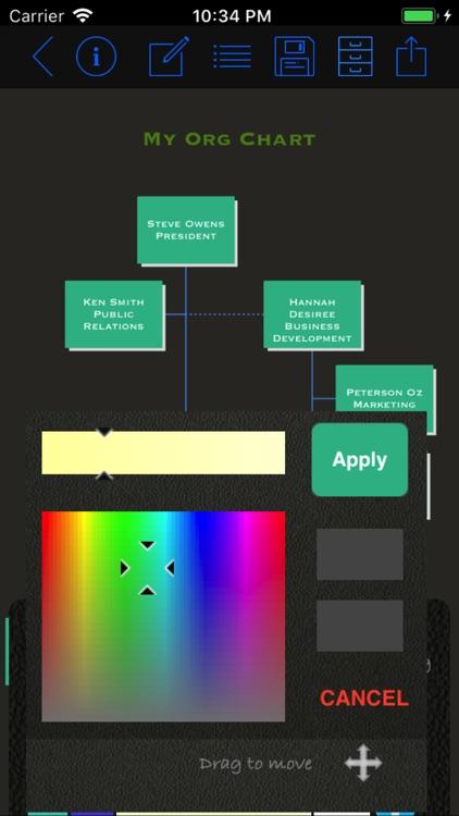 Org Chart Maker App screenshot-3