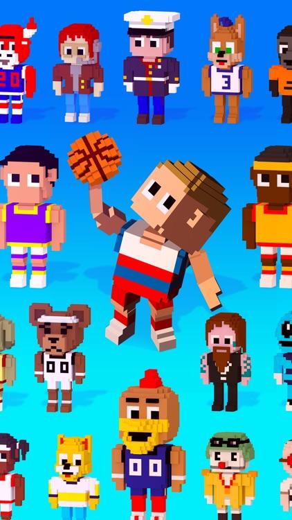 Blocky Basketball FreeStyle screenshot-4