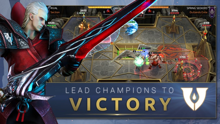 RIVAL: Crimson x Chaos screenshot-3