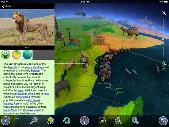 Screenshot #3 for Earth 3D - Amazing Atlas