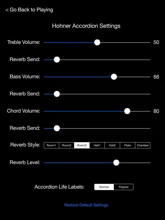 Hohner Piano Accordion screenshot-3