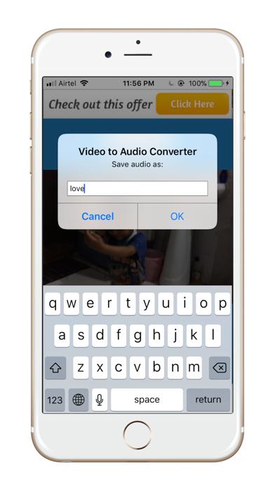 Vid2MP3-Video to MP3 Converter screenshot two