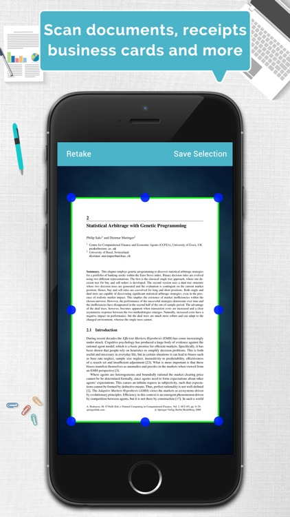 Tom Scanner Pro - PDF document scanner with OCR