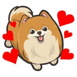 Pomoji - Pomeranian Emoji & Stickers