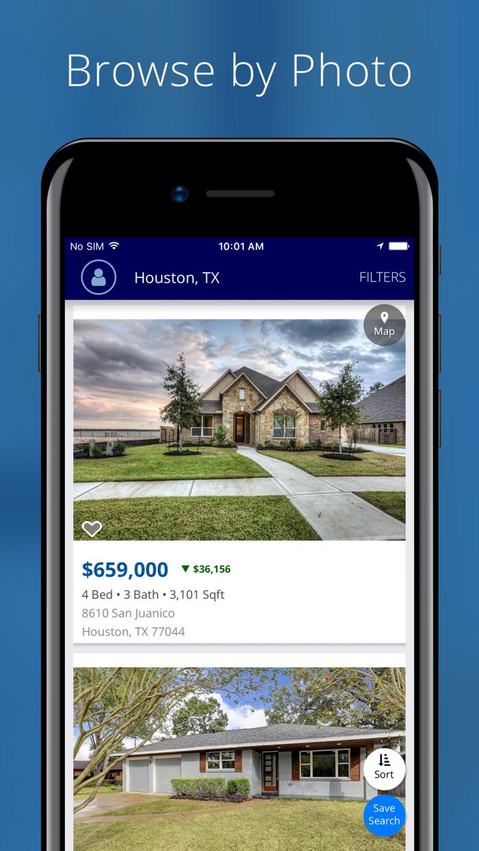 Homes for Sale, Rent Screenshot