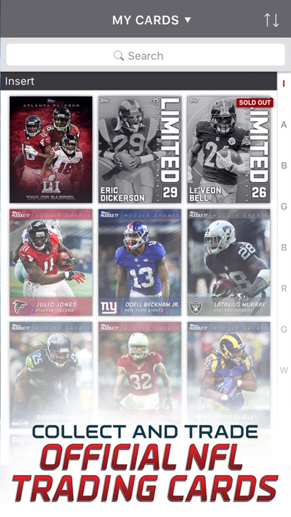 NFL HUDDLE: Football Card Trader screenshot-2
