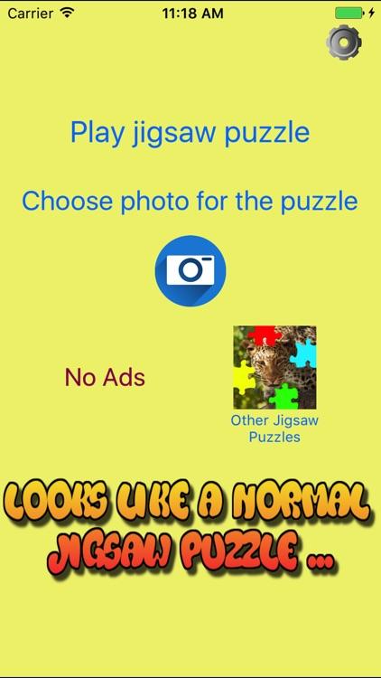 Secret Photo Jigsaw Puzzle Maker