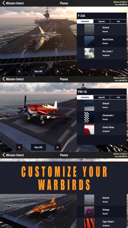 Alliance: Air War - Airplane Flight Simulator Game screenshot-3