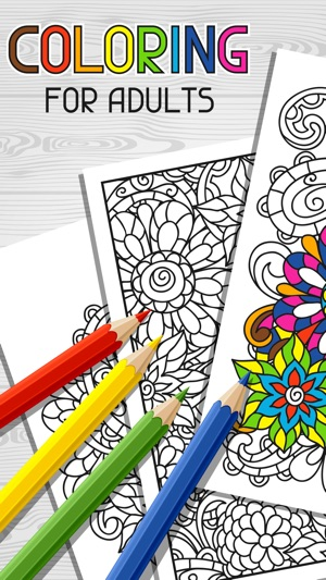 Color Therapy Free Adult Coloring Books For Adults On The App Store