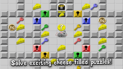 Rodent Rush - Puzzle Challenge Cheese Chips screenshot one