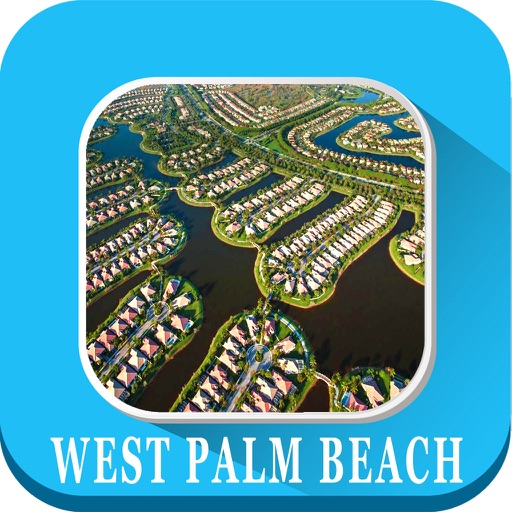 West Palm Beach Florida - Offline Maps Navigator