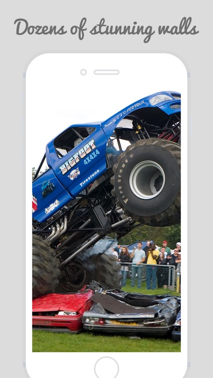 Home & Lock Screen Wallpapers For Monster Truck