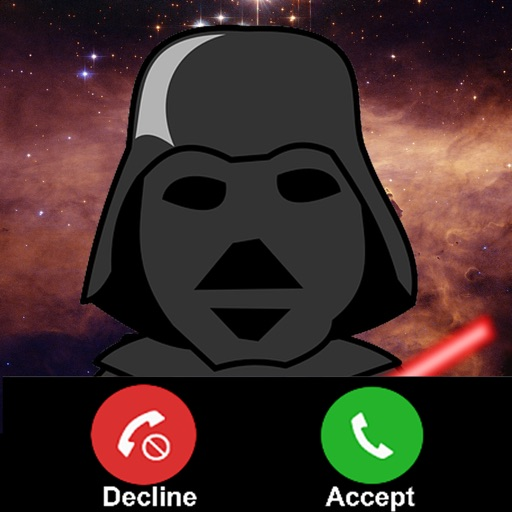 Fake Call From Darth Vader : Prank for a Birthday iOS App