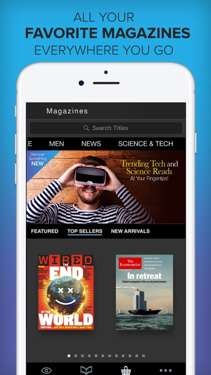 Zinio - The World's Magazine Newsstand app image