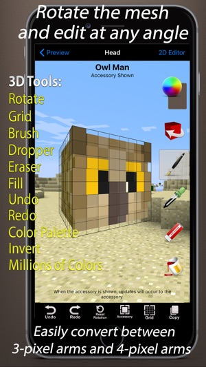 Skin Creator 3D for Minecraft on the App Store