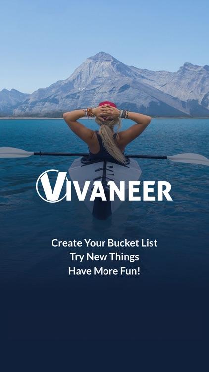 Vivaneer - The Bucket List App