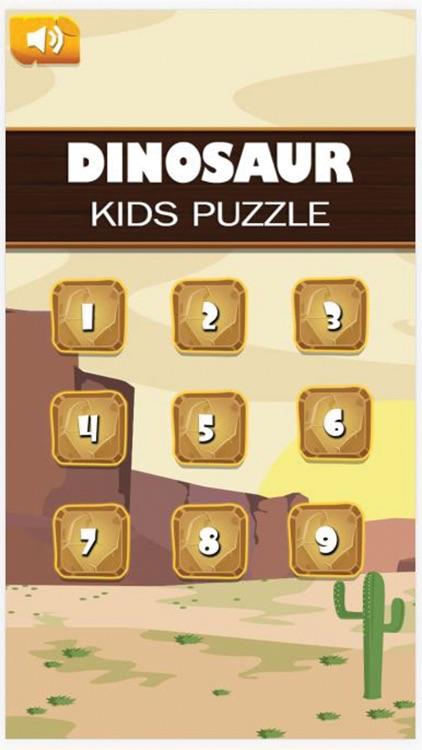 Dinosaur Kids Puzzle Game