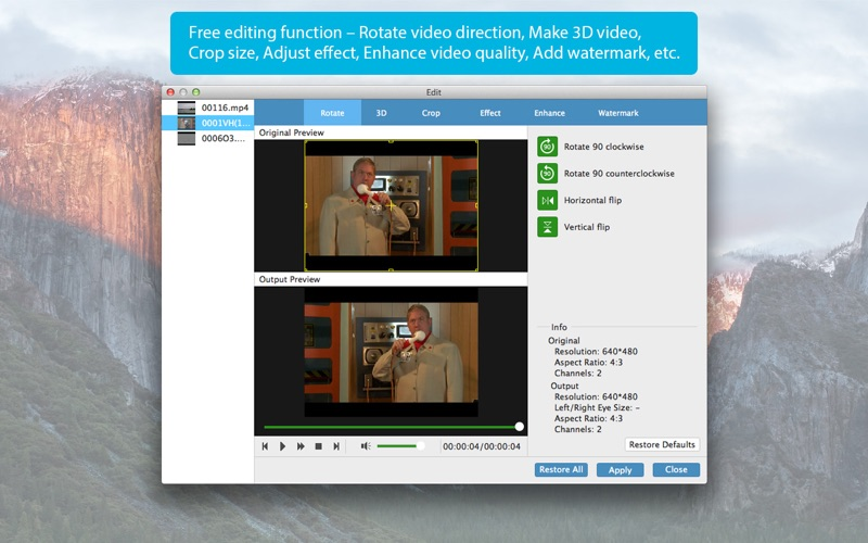 Tipard Video Converter Platinum-Convert Any Video Screenshot
