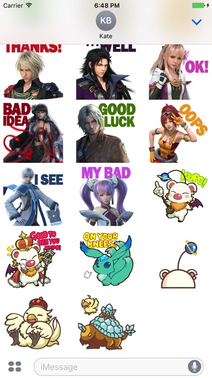 FFBE Stickers screenshot-2