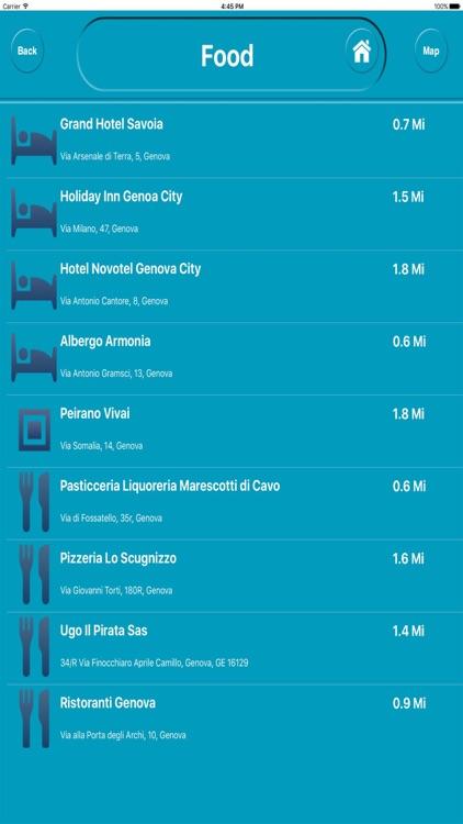 Genova Italy Offline City Maps Navigation screenshot-3