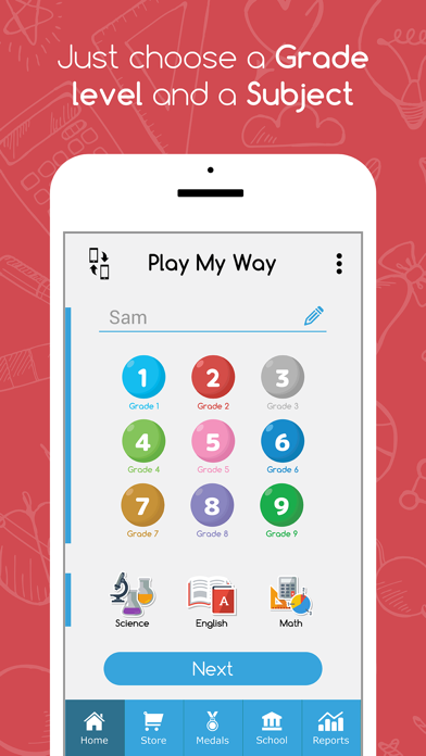 PlayMyWay: Education in games