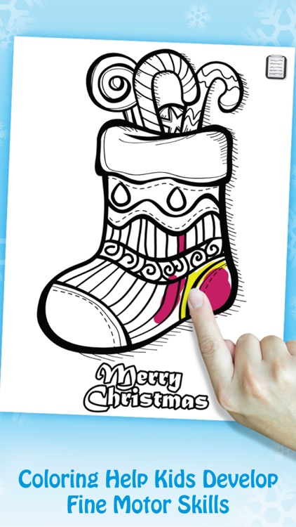 Paint & Play Christmas, Coloring Book For Kids screenshot-3