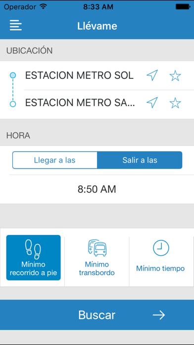 download EMT Madrid apps 3