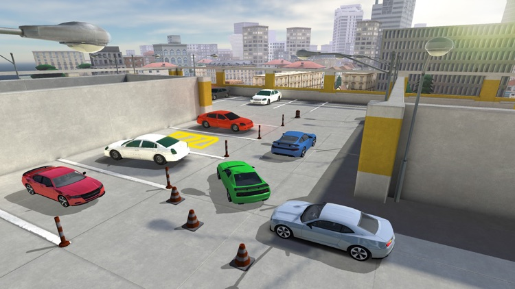Race Car Driving Simulator: City Driving Test 3D