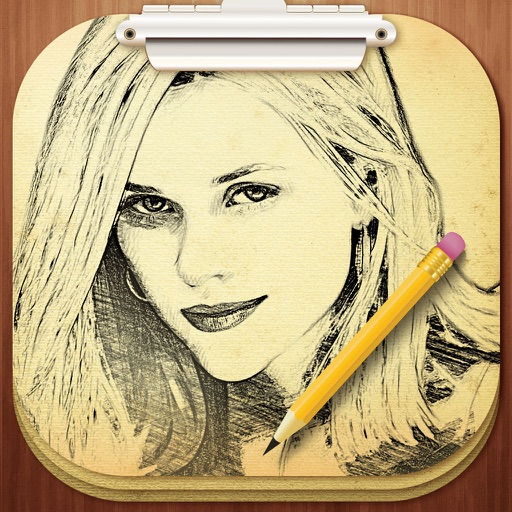Photo Sketch Pro- Color Pencil Draw Effects Filter iOS App