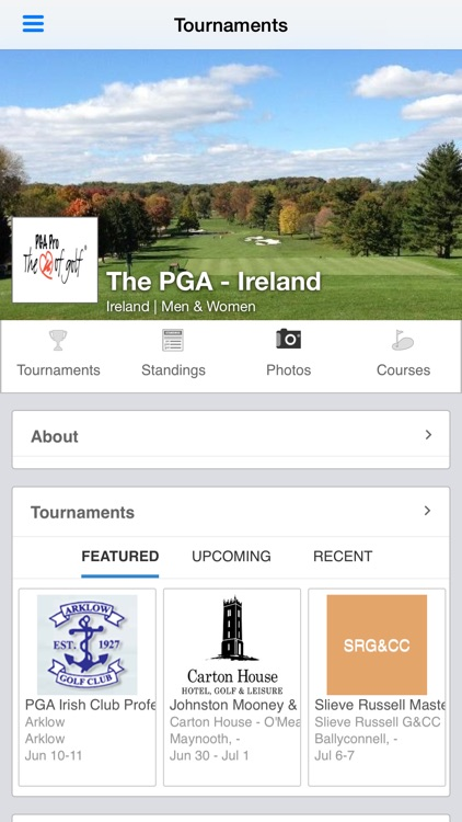 The PGA Ireland screenshot-0