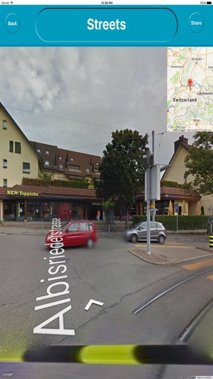 Zurich Switzerland Offline City Maps Navigation screenshot-4
