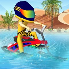 Moto Surfer Joyride - 3D Moto Surfer Kids Racing