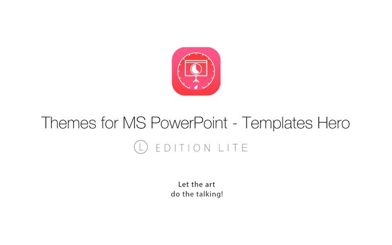 点击获取Themes for MS PowerPoint L Lite - Templates Hero