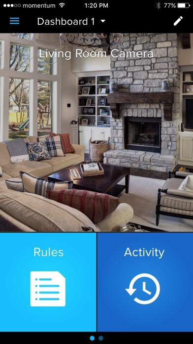Momentum Smart Home Screenshot