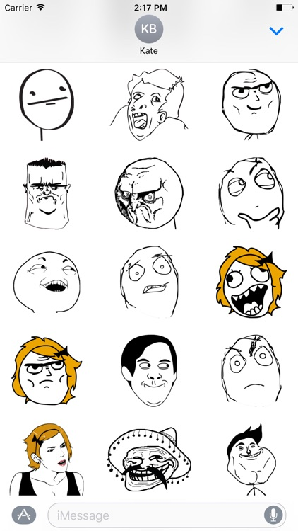 Rage Comics Stickers screenshot-3