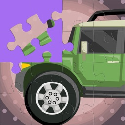 Cars Jigsaw Puzzle Free Game for Kids