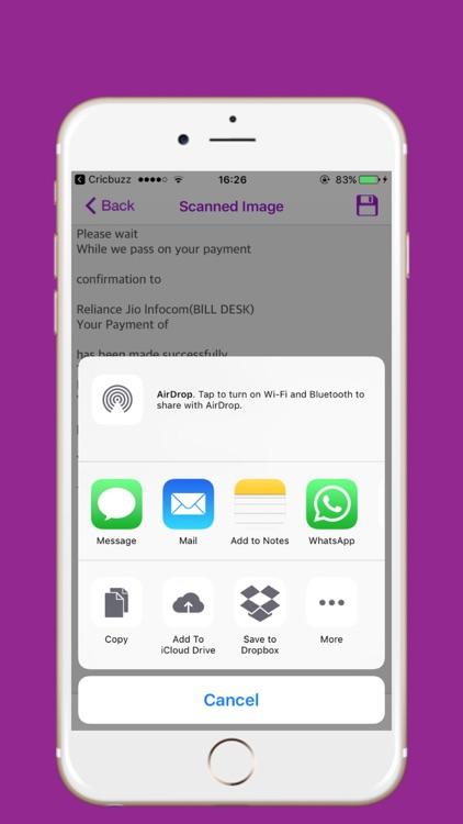 Camo Scanner PDF screenshot-3