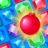 宝石爆炸传奇可口的橡皮泥比赛3游戏