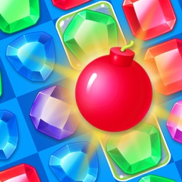 Jewel Blast Legend Delicious Gummy Match 3 Game